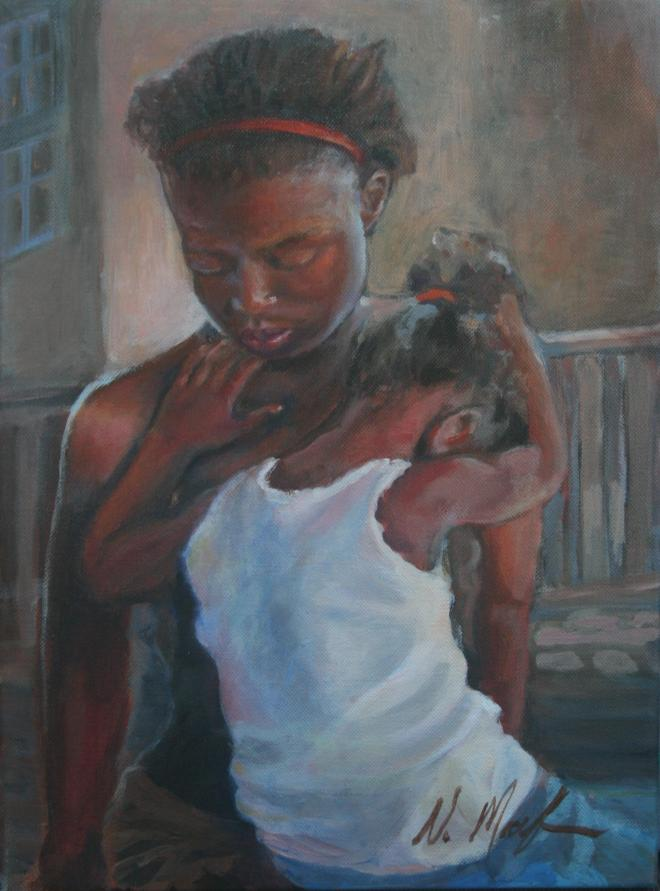 Mother and Child by Victoria Macfarlane