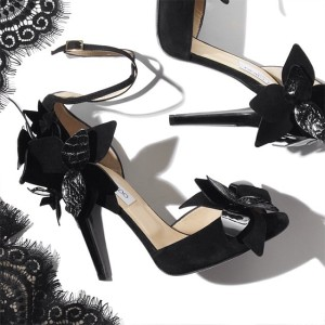 BLACK MAGIC LET YOUR SHOES DO THE TALKING, JIMMY CHOO, AT NET A PORTER