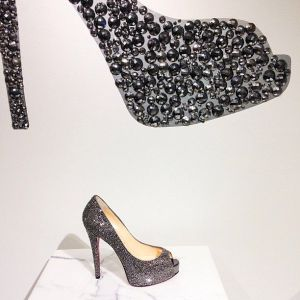 CHRISTIAN LOUBOUTIN SPARKLERS AT BARNEYS