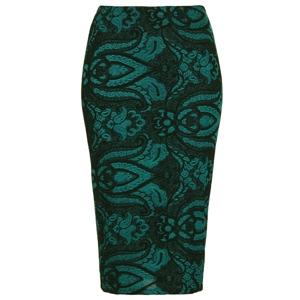 brocade-pencil-skirt