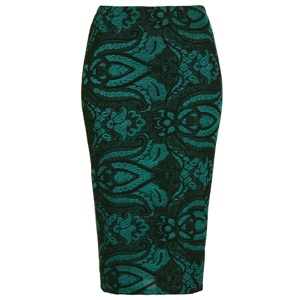 brocade-pencil-skirt