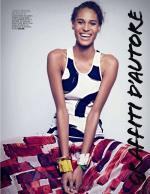 Spotted: Cindy Bruna for Marie Claire Italy February 2014 Edition
