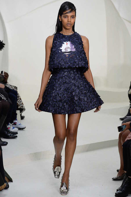 Grace Mahary at Dior