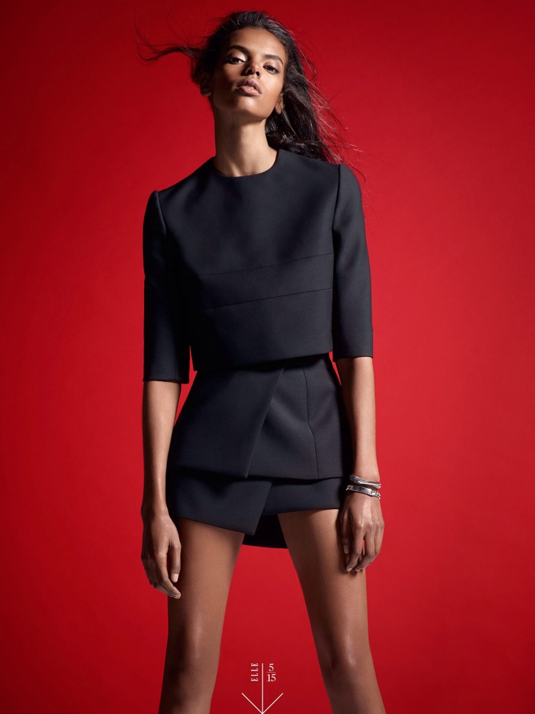 Grace Mahary for Elle 2014d