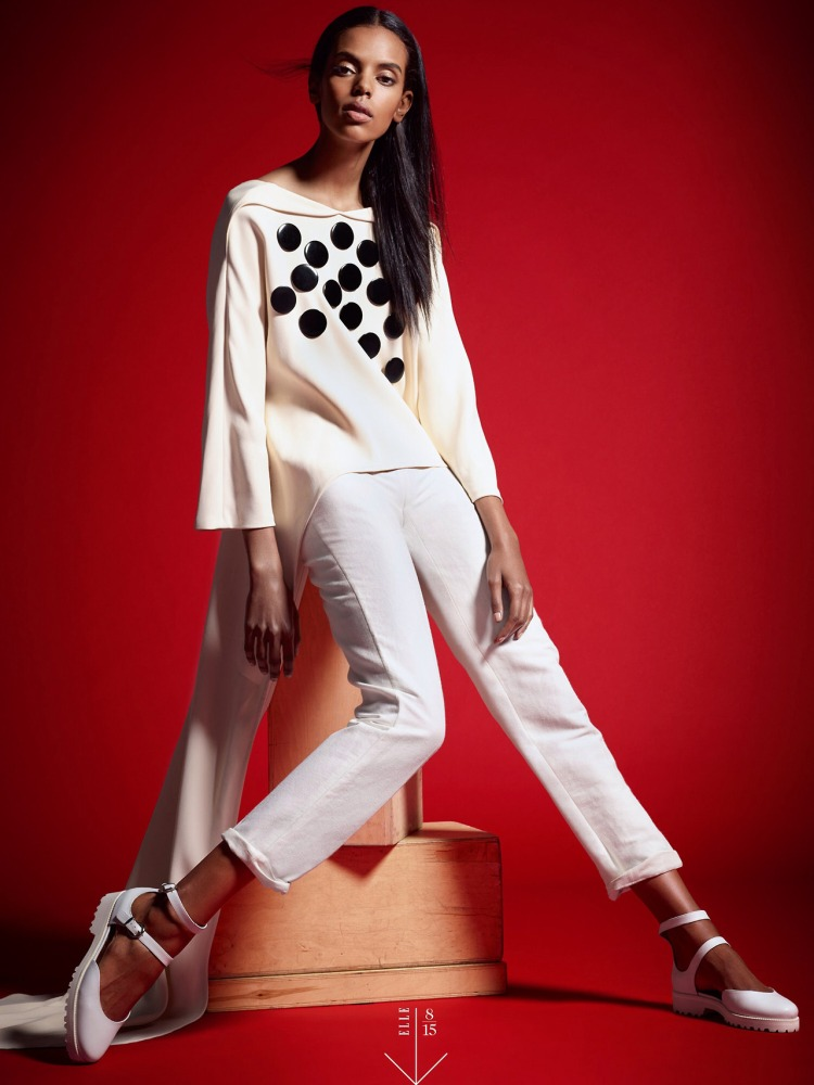Grace Mahary for Elle 2014g