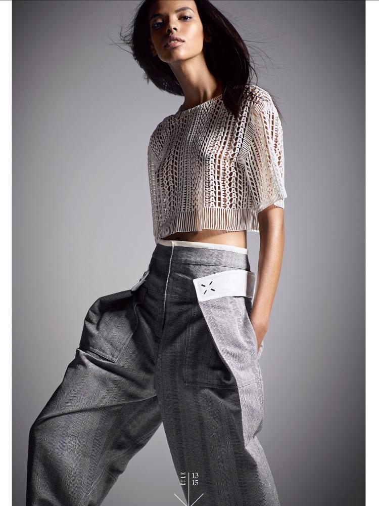 Grace Mahary for Elle 2014k