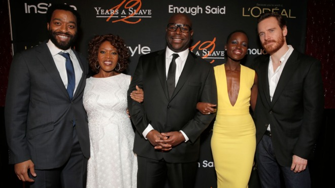 Chiwetel Ejiofor, Alfre Woodard, Steve McQueen, Lupita Nyong'o, Michael Fassbender