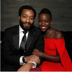 Lupita and Chiwetel
