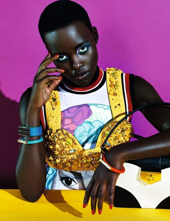 Lupita for Dazed and Confused 3