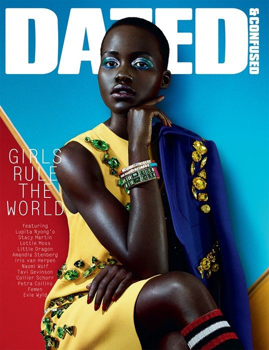 Lupita for Dazed and Confused