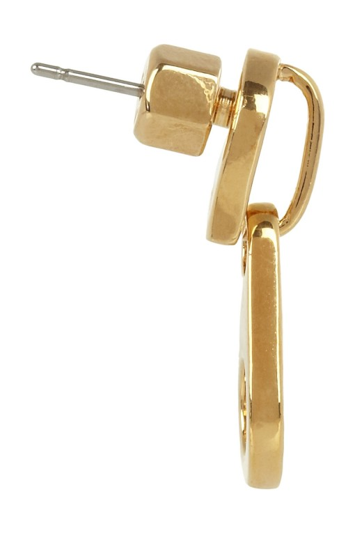 Marc Jacobs Zip earrings-2