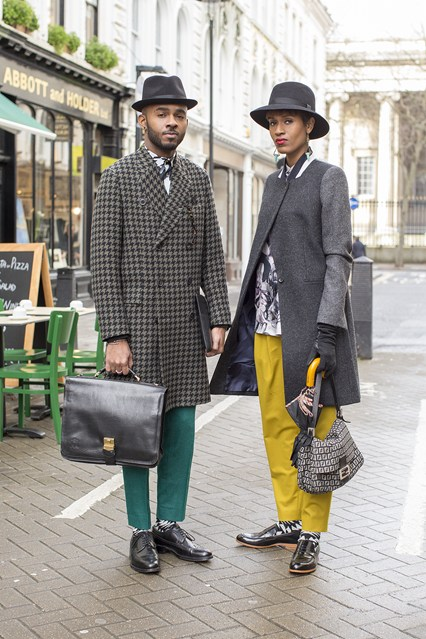 Martell Campbell and Donya Campbell