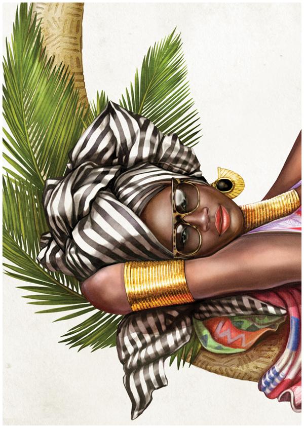 African Pinups by MUTI Creative CloudsStudio