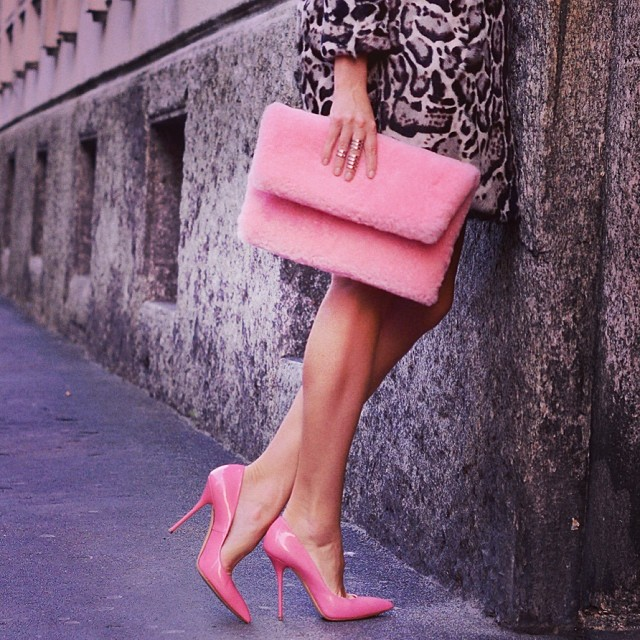 Street Style in Pink