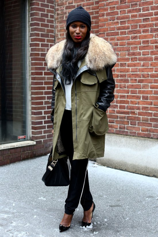 sporty-anorak-got-glam-counter-pointed-toe-pumps