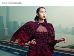 Valentino Red Campaign 2014 for Vogue China February Edition