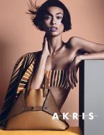 Anais Mali for Akris Spring/Summer 2014Campaign