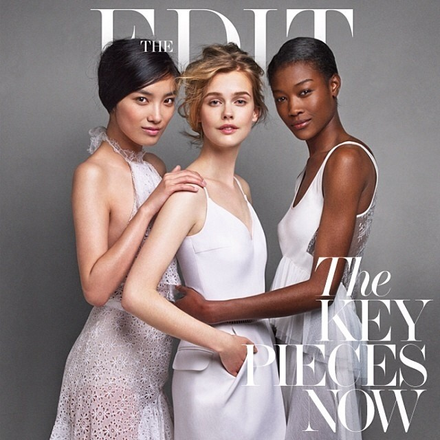 Betty Adewole, Sissi Hou, and Stina Rap for Net-A-Porter's Edit