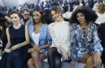 Front Row: H&M Fashion Show at Paris FashionWeek