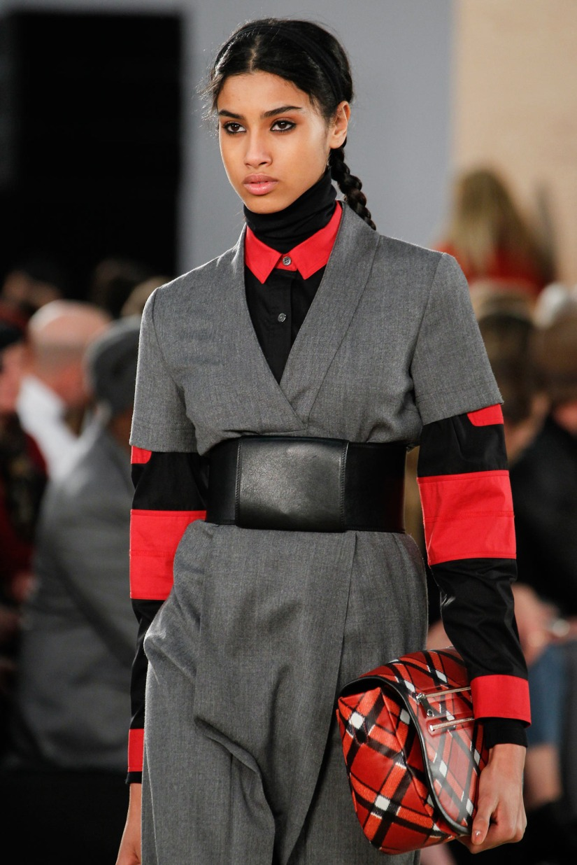 A Closer Look: Imaan Hammam at Marc by Marc Jacobs F/W2014