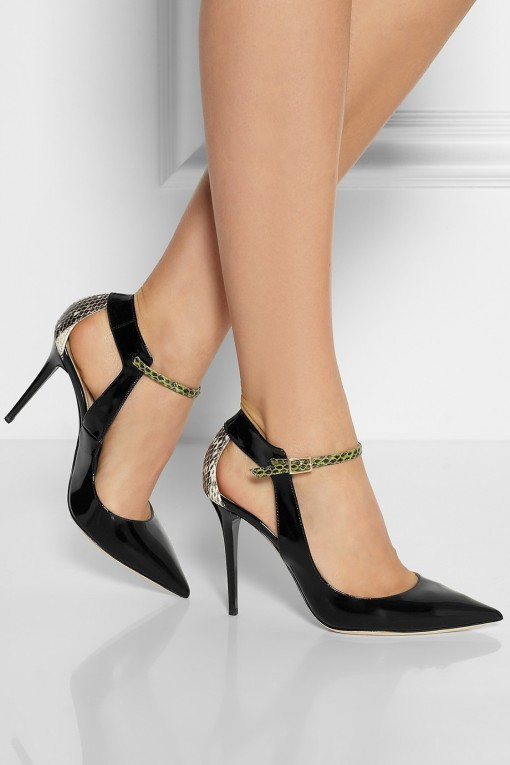 Jimmy Choo patent pumps-3