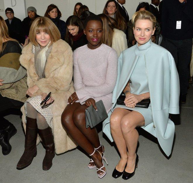 Lupita-Nyongo-New-York-Fashion-Week-Fall-2014