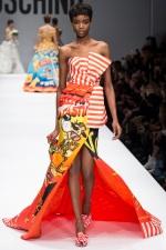 A closer look: Black Models at Moschino Fall 2014 Show at Milan FashionWeek