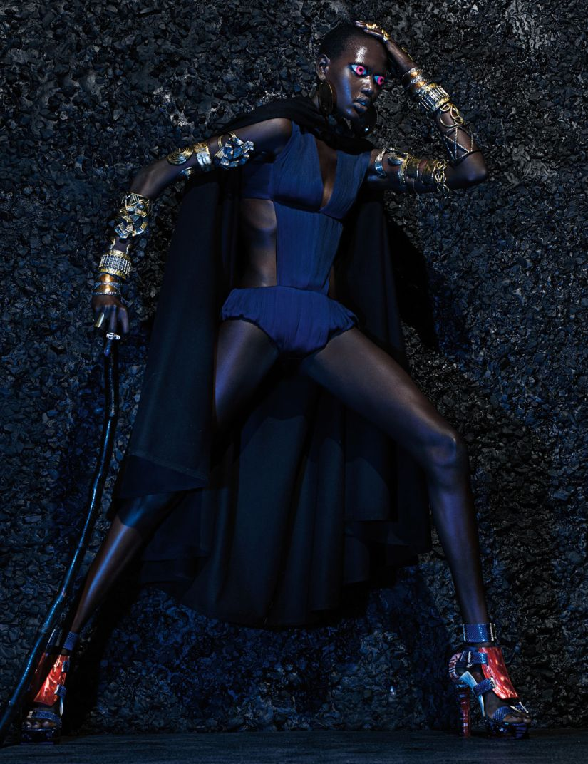 Warrior Stance Editorial by W Magazine March 2014