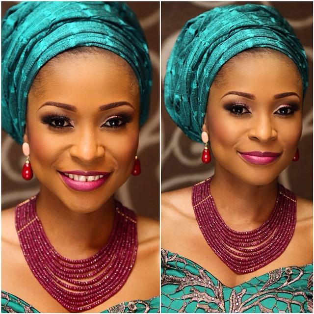 beaded jewelry made in Nigeria