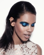 Beauty Look of the day: Blue Makeup