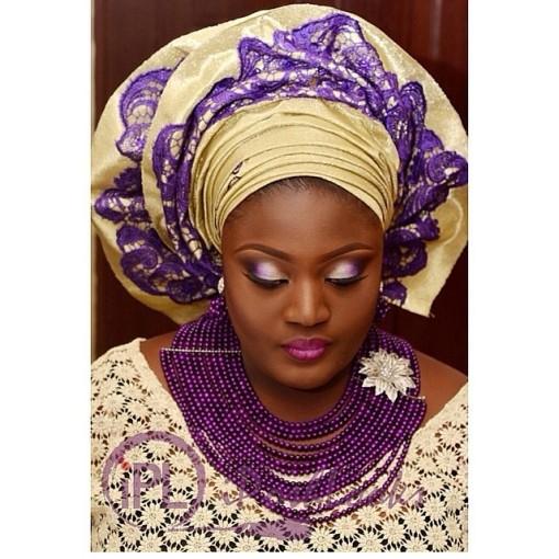 Nigeria-Gele-Beads