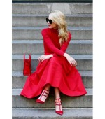 Color Mood: Head to Toe Red for a wedding thisSummer