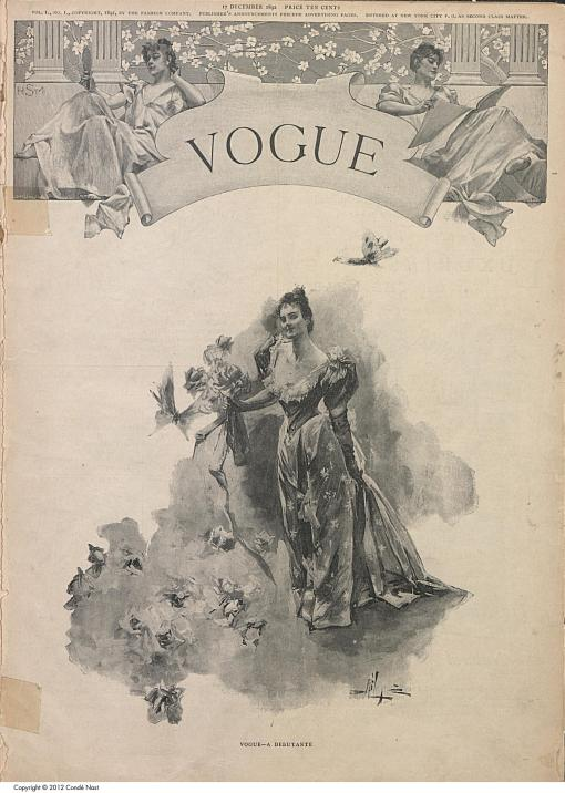 first issue of vogue magazine