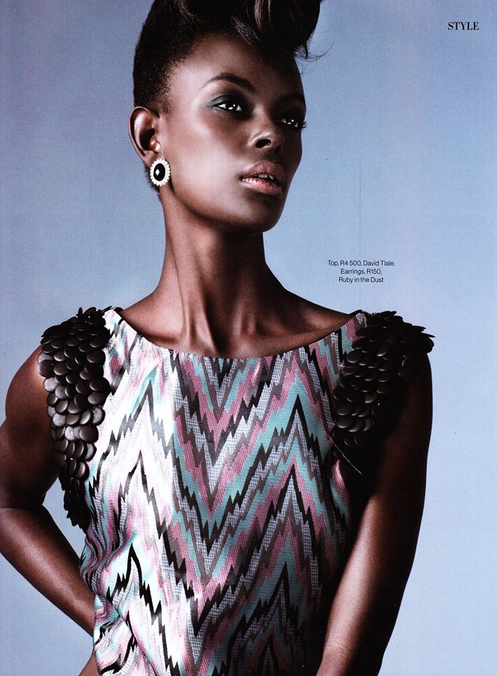 Rwandan Model Happy Umurerewa is Unapologetically  Beautiful