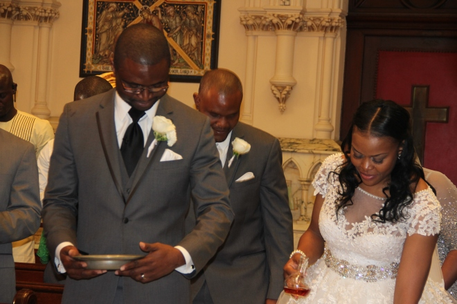 isioma-on her big day