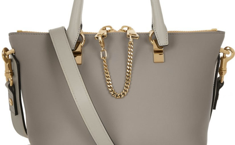 84d4f1ed96 My Wish List  Chloé Baylee Mini Tote
