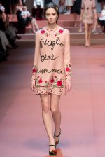 Dolce and Gabbana celebrates motherhood