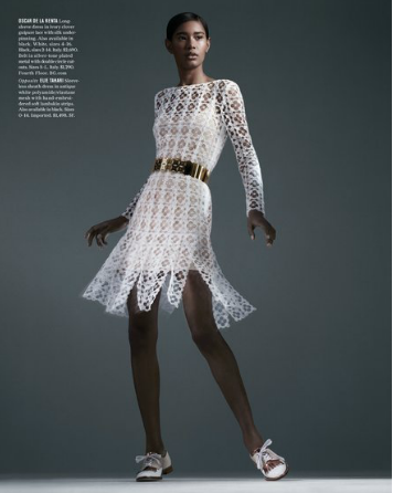Ysaunny Brito for Bergdoff Goodman's SpringCollection
