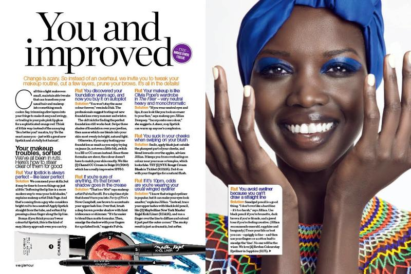 Nykhor Paul for South Africa's Glamour Magazine
