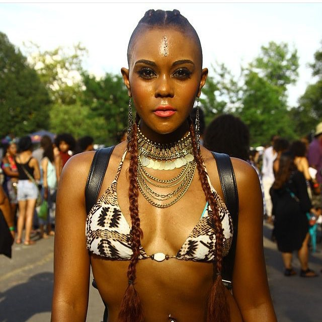 Modern African Fashion At Afropunk 2015 in New York