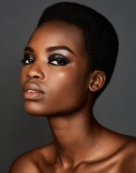 African Top Model Maria Borges Shows Off Her NaturalHair