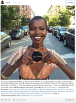 South Sudanese Model Nykhor Paul Thanks Bobby BrownMakeup.
