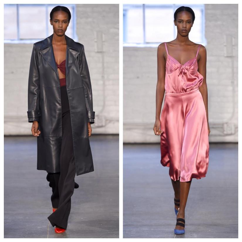Leila Nda at New York Fashion Week