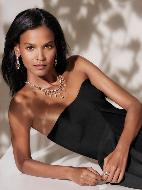 Liya Kebede for De Beer's Campaign for Women for Women International