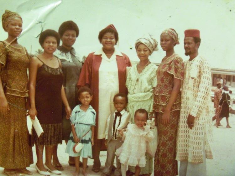 my family through times