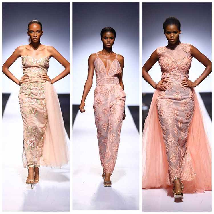 For a confident and beautiful woman: Akpos Okudu at the 2015 Lagos Fashion and Design Week