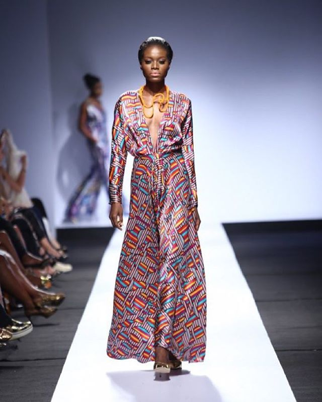 At LFDW 2015, Tiffany Amber was simple, yetluxurious
