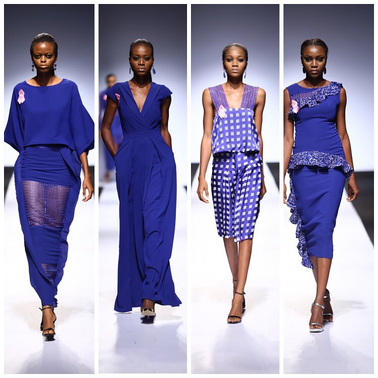 For the woman in love with Blue: Wanger Ayu at the 2015 Lagos Fashion and Design Week