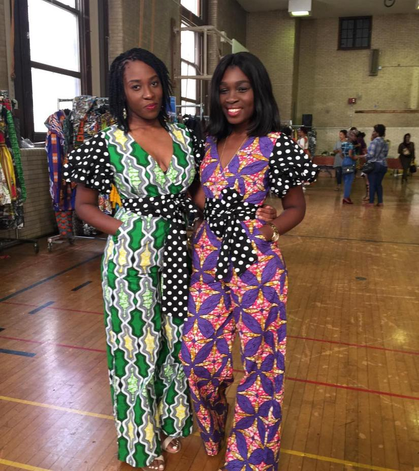 Two African inspired fashion brands, Zazaii and Zuvaa learn to pop-shoptogether